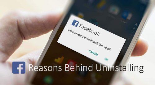 8 razones para desinstalar la aplicación de Facebook ahora