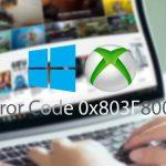 Cómo solucionar un error 0x803F8001 en la tienda Windows 10, Xbox One