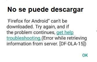 Cómo solucionar un error DF-DLA-15