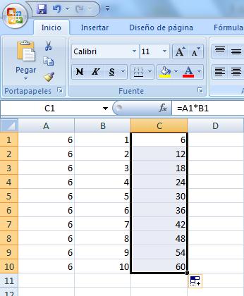 Como Multiplicar En Una Hoja De Cálculo Excel