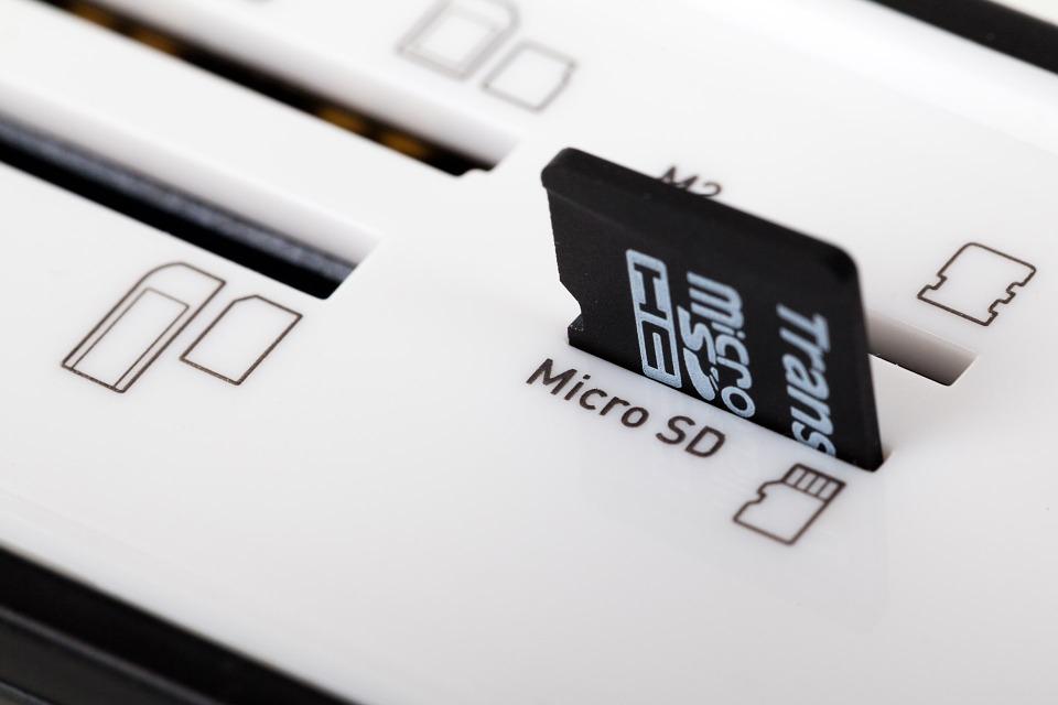 Cómo formatear una tarjeta SD