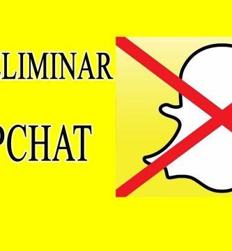 Cómo eliminar un mensaje en Snapchat